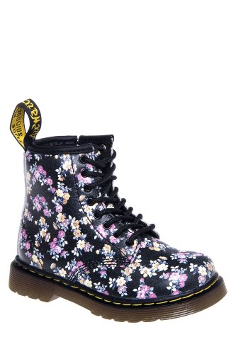 Dr. Martens Toddlers' Brooklee Mini Tydee Combat Boot