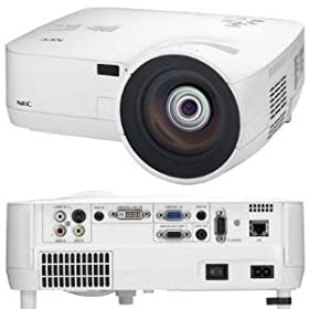 NEC NP510WS - LCD projector - 2100 ANSI lumens - WXGA (1280 x 800) - widescreen - High Definition 720p