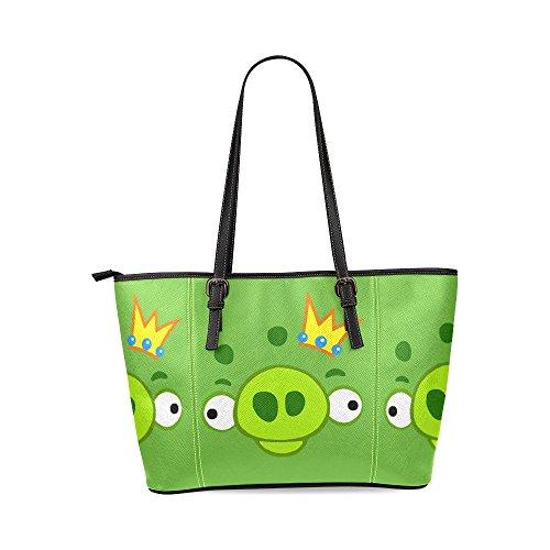 crown-and-cute-eyes-custom-pu-leather-large-tote-bag-handbag-shoulder-bag-for-fashion-women-girls
