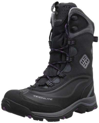 Columbia Women'S Bugaboot Plus Ii Xtm Omni-Heat Winter Boot,Black/Columbia Grey,8.5 M Us