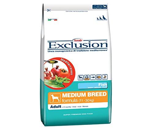 Exclusion Cane Adulto Taglia Media, Pesce 800 Gr