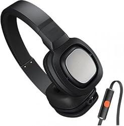Zuspaa J55I BLK On-Ear Headphone with Mic (Black)