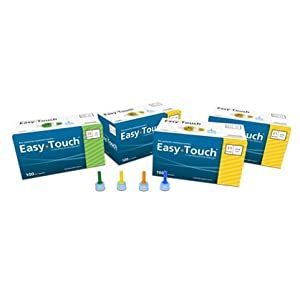 "[2 BOXES] EASY TOUCH® 31G TIP x 7MM (5/16"") DISPOSABLE PEN NEEDLES (100 COUNT X 2 BOXES) *COMPARE TO B-D® & NOVOFINE® 31G TIP AND SAVE!!*"