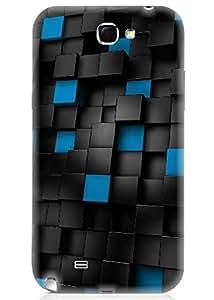Spygen Premium Quality Designer Printed 3D Lightweight Slim Matte Finish Hard Case Back Cover For Samsung Galaxy Note 2 (N7100)