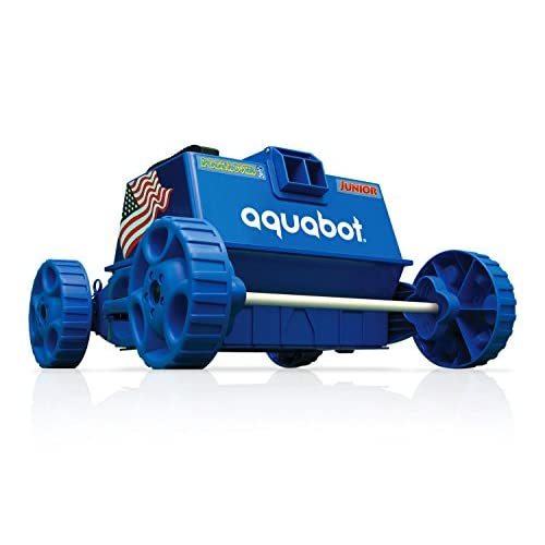 Aquabot APRVJR Pool Rover Junior Robotic Above-Ground Pool Cleaner,Color May Vary