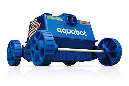 Aquabot-APRVJR-Pool-Rover-Junior-Robotic-Above-Ground-Pool-CleanerColor-May-Vary