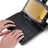 USB Tastatur Keyboard für 17,78cm (7″) Tablet PC mit Tasche