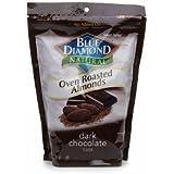 Blue Diamond Oven Roasted Almonds, Dark Chocolate, 30-ounce bag