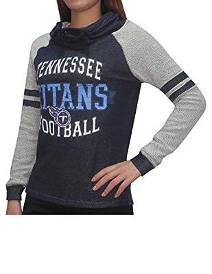 NFL TENNESSEE TITANS Womens Athletic Sweatshirt (Vintage Look)