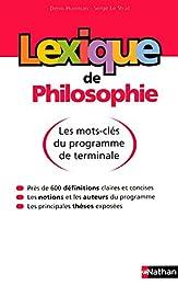Lexique de philosophie