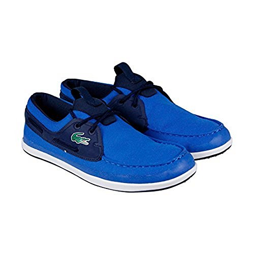 Lacoste Men's L.Andsailing 316 3 Spm Fashion Sneaker, Blue, 8.5 M US