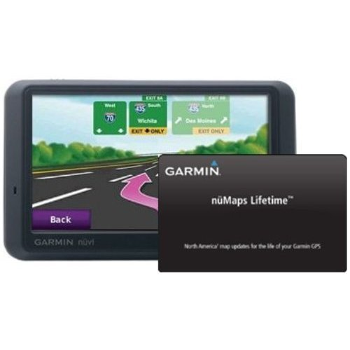 Garmin Nüvi 765/765T 4.3-Inch Bluetooth Portable Gps Navigator With Traffic & Lifetime Map Updates