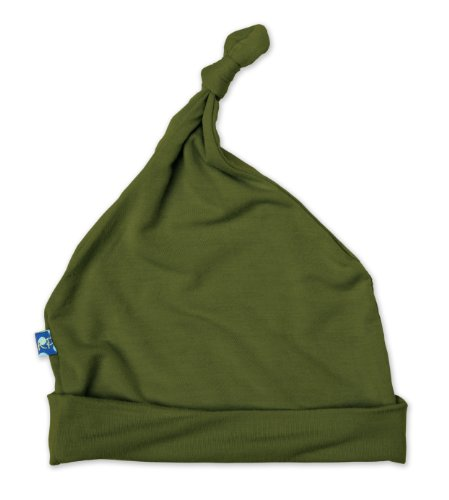 Kickee Pants Knot Hat, Moss, 12-24 Months front-586251