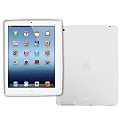 Apple iPad 2/ iPad with Retina Display Flexible Poly Skin Case Cover (Clear)