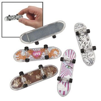 Mini Skateboards - Novelty Toys & Toy Cars & Vehicles - 1