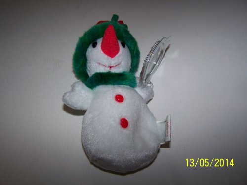 Ty Jingle Beanies - Snowgirl - 1