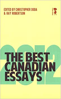 best canadian essays 2009