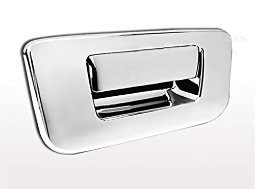 MaxMate 07-13 Chevy Silverado/GMC Sierra (Not for Classic) Chrome Tailgate Handle Cover Deluxe W/O Keyhole