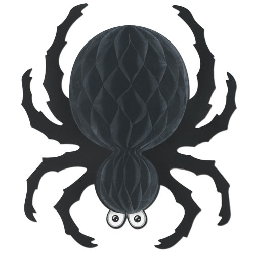 Beistle Black Tissue Spider, 18-Inch