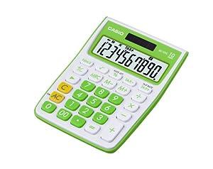 Casio MS-10VC-GN 2.6 x 10.6 x 14.4 cm Desk Calculator - Green