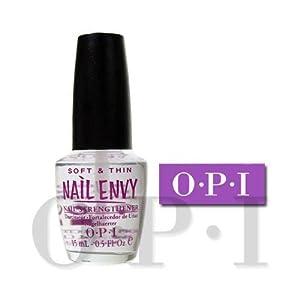 OPI Nail Envy Natural Nail Strengthener, Soft and Thin, 0.5 Ounce