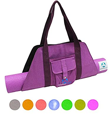 #DoYourYoga Yogabag »Sumantra« / Yoga mat bag for XTRA-LARGE yogamats / pilatesmats up to 100 cm (Width) / available in many colours