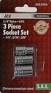 3 Pc. Socket Set (23594)