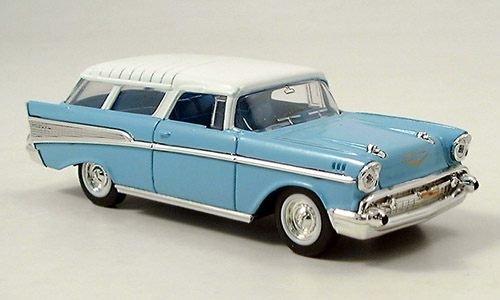 Chevrolet Nomad 1957 hellblau/weiss