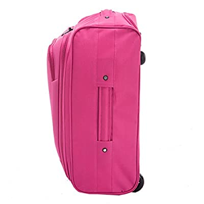 FlyGEAR Cabin Approved Super Lightweight Hand Luggage Travel Wheel Holdall Suitcase Backpack Rucksack Bag Fits Easyjet Ryanair & Many More - 1.3k - 41 Litres from More4bagz