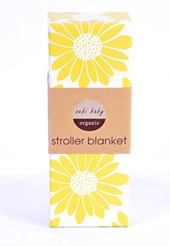 Zebi Baby Stroller Baby Blanket Olive Floral - 1