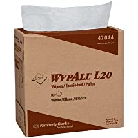 KCC47044 - Wypall L20 Wipers, Pop-up Box, Four-ply, 9 1/10 X 16 4/5, White, 88/box