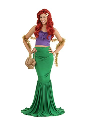 Halloween 2017 Disney Costumes Plus Size & Standard Women's Costume Characters - Women's Costume CharactersAdult Mermaid Costume The Little Mermaid - Ariel
