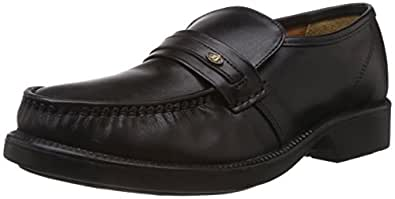 Black Bata Mocassino Formal Shoes