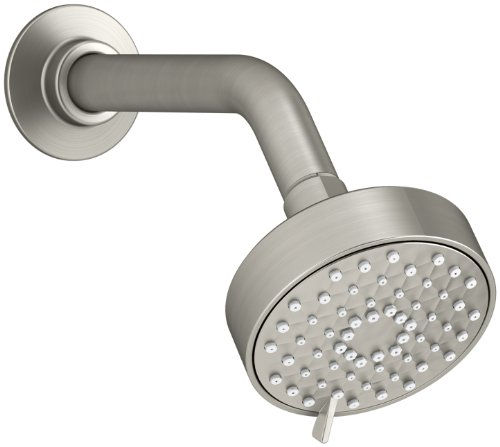 KOHLER K-72418-BN Awaken G90 Multifunction Showerhead, Vibrant Brushed Nickel