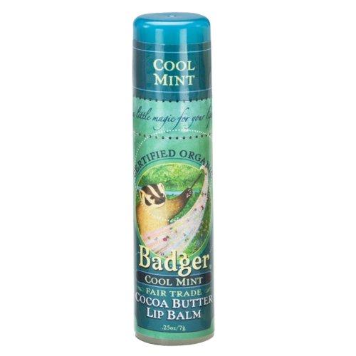 Badger ラージリップバームスティック cool Mint