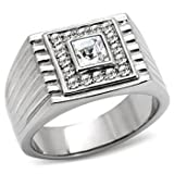Isady - Roko - Men's Ring - Stainless Steel - Cubic Zirconia - Y