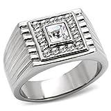 Isady - Roko - Men's Ring - Stainless Steel - Cubic Zirconia - Y