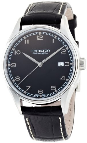 Hamilton Men's H39515733 Valiant Black Dial Watch