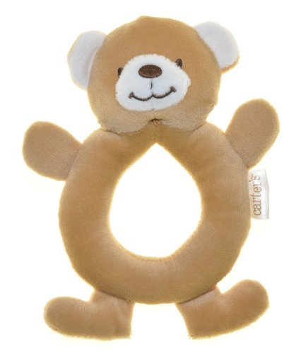 Handbell Baby Early Development Rattle Toys Multifunctional Plush Brown Bear Bed Hang Ring Bell front-528266