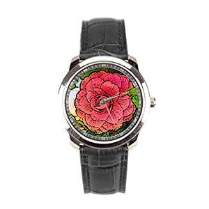 sanYout Wrist Watch Brands Angelika Moethrath Leather Watch Band Graphic Best Wrist Watch For Men Nature