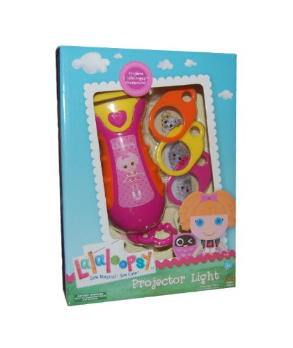 Lalaloopsy Sew Magical! Sew Cute! Projector Light - Projects Cute Lalaloopsy Characters!