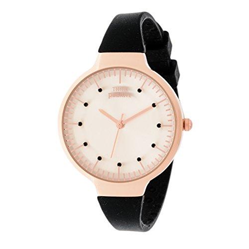 ladies-think-positiver-model-se-w69-rose-medium-of-silicone-strap-color-black