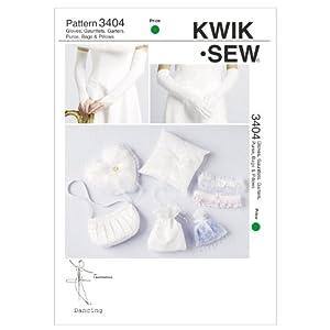 Kwik Sew K3404 Gloves Sewing Pattern, Gauntlets