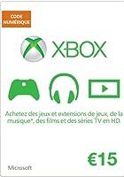 Carte Xbox Live de 15 EUR [Code Digital - Xbox Live]