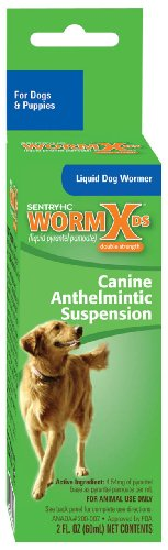 Sentry HC WormX DS Liquid Dog Dewormer, 2-Ounce