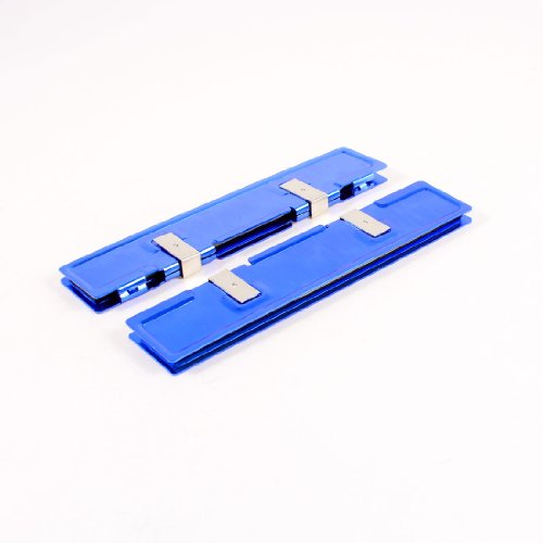 Gino 2 Pcs Blue Aluminum Heatsink Shim Spreader Cooler Cooling for DDR RAM Memory платье rinascimento rinascimento ri005ewsee90