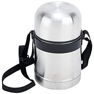 Maxam® 17oz (0.5L) Stainless Steel Vacuum Soup Container by Revlon