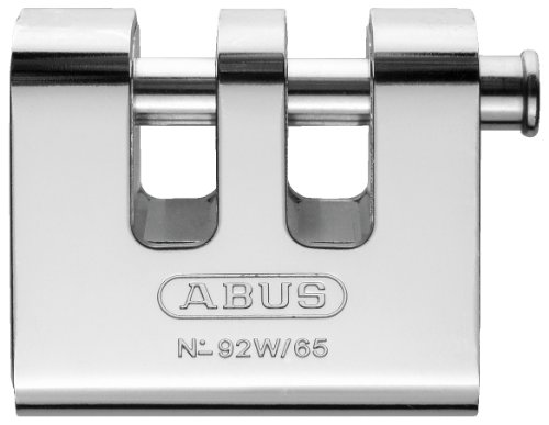ABUS 92W/65 KD All Weather Solid Brass with Steel Jacket Monoblock Keyed Different Padlock