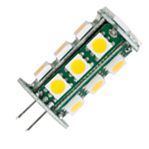 4 Qty. Halco Led Jc 1.8W Blue Non-Dimmable G4 Proled Jc20/2Blu/Led 1.8W 10-18V Led Omnidirectional Blue Led Lamp Bulb