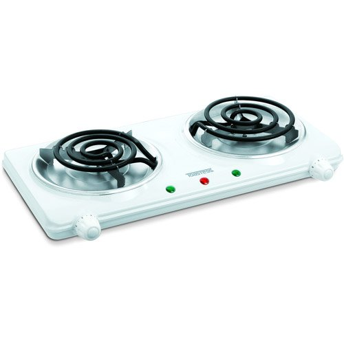 Toastess Kitchen Cooking Range, Control Knob, Indicator Light, Coils, Silver